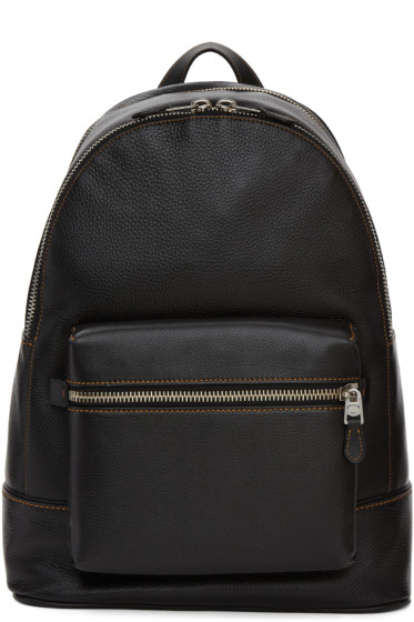 Coach 1941 - Black Leather Backpack