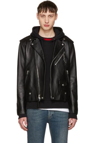 Coach 1941 - Black Leather Moto Jacket