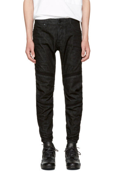 Raw Research - Black Motac 3D Jeans