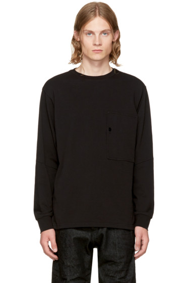 Raw Research - Black Long Sleeve Stalt T-Shirt