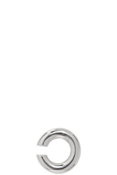 Saskia Diez - Silver Bold Ear Cuff