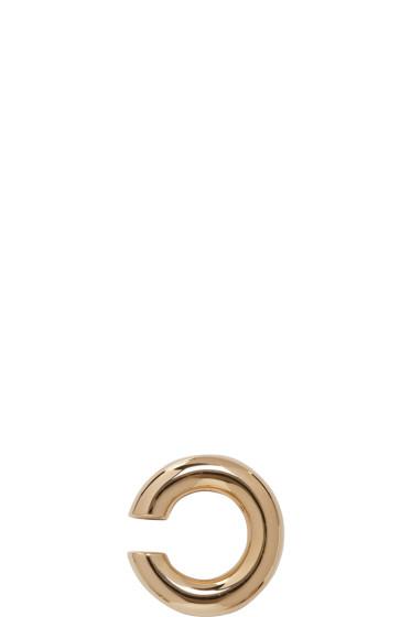 Saskia Diez - Gold Bold Ear Cuff