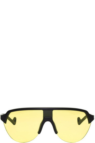 District Vision - Black & Yellow Nagata Sunglasses
