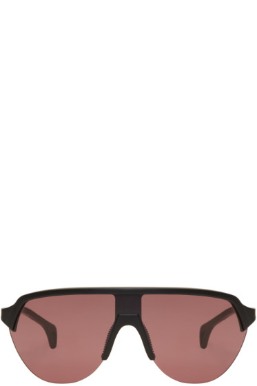 District Vision - Black & Pink Nagata Sunglasses