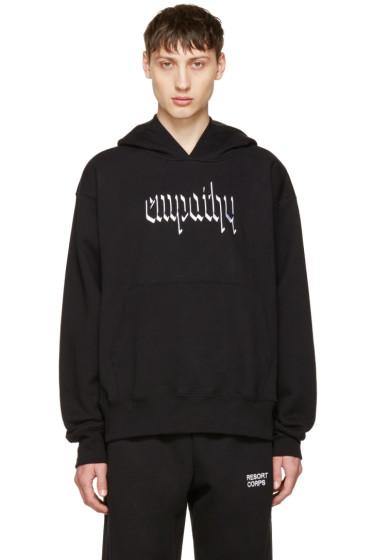 Resort Corps - ブラック Empathy フーディ