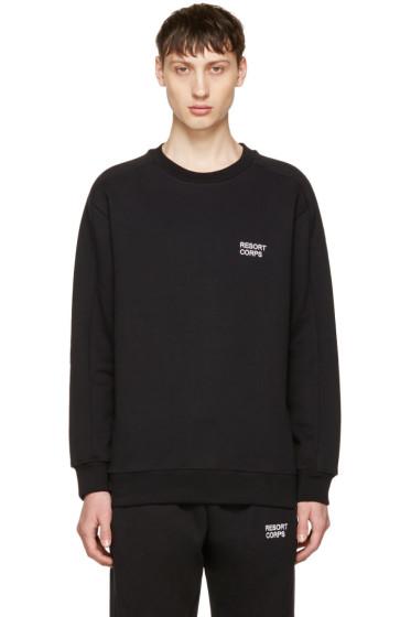 Resort Corps - Black Survetement Sweatshirt