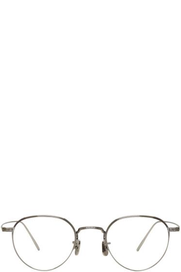 Eyevan 7285 - Gunmetal 'Model 146' Glasses