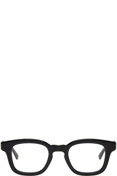Eyevan 7285 - Black 'Model 315 E' Glasses