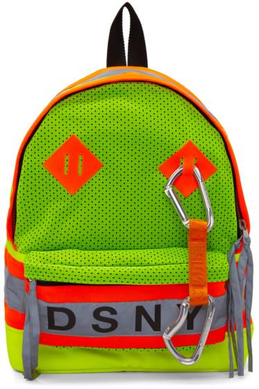 Heron Preston - イエロー & オレンジ DSNY Edition バックパック