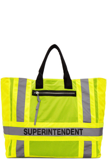 Heron Preston - Yellow DSNY Edition Superintendent Tote