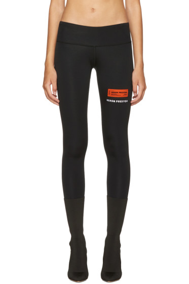 Heron Preston - Black HP Leggings