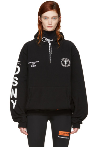 Heron Preston - Black DSNY Edition 'Uniform' Hoodie