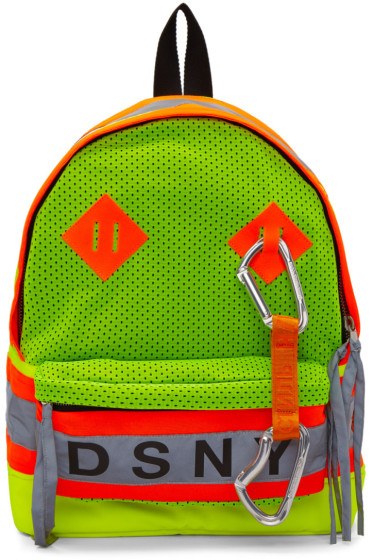 Heron Preston - Yellow & Orange DSNY Edition Backpack