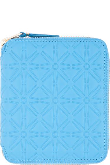 Comme des Garçons Wallets - Blue Star Embossed Wallet