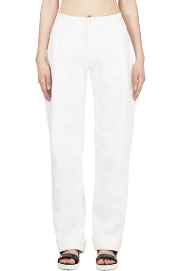 Anne Sofie Madsen - White Coated Cliff Jumper Lounge Pants