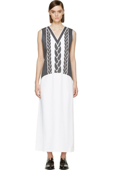 Viktor & Rolf - White Duchess Column Dress