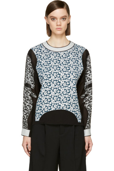 Viktor & Rolf - Back Embroidered Panel Blouse