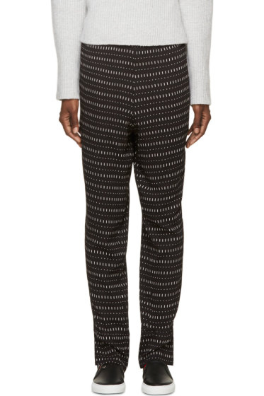 Costume National - Black Printed Trousers