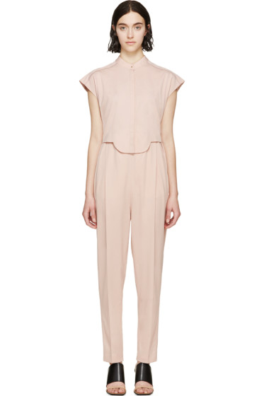 Viktor & Rolf - Pink Sleeveless Two-Piece Jumpsuit