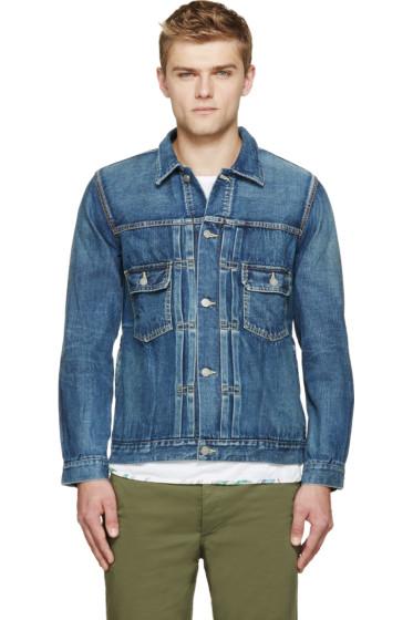 Visvim - Blue Denim Damaged Jacket