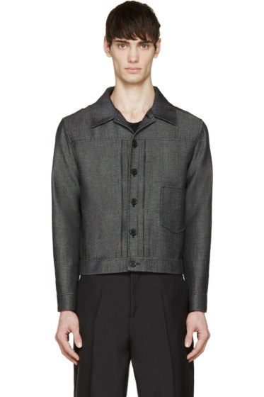 Yang Li - Charcoal Twill Jacket