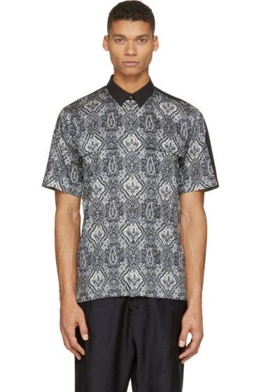 Miharayasuhiro - Black Paisley Shirt