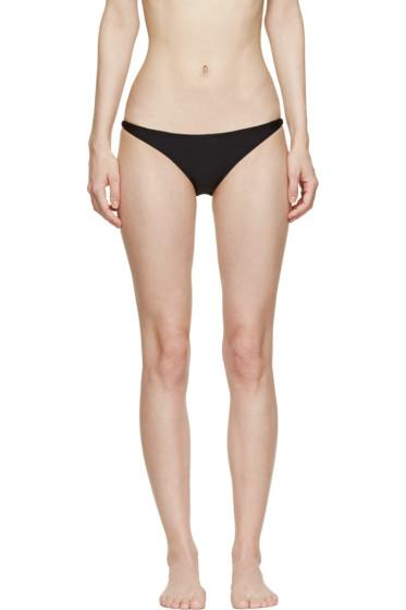 Osklen Praia - Black Brazilian Bikini Brief