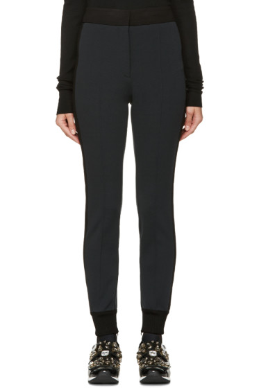 Dolce & Gabbana - Grey & Black Tux Striped Lounge Pants