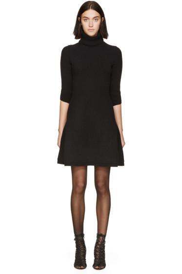 Dsquared2 - Black Knit Turtleneck Dress
