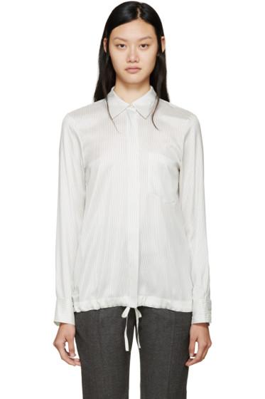Jil Sander - White & Black Virna Shirt