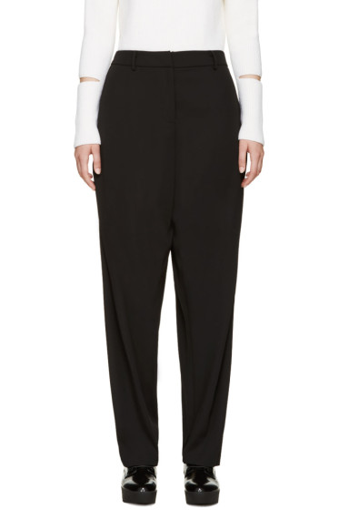 Opening Ceremony - Black Wide-Leg Moodle Trousers