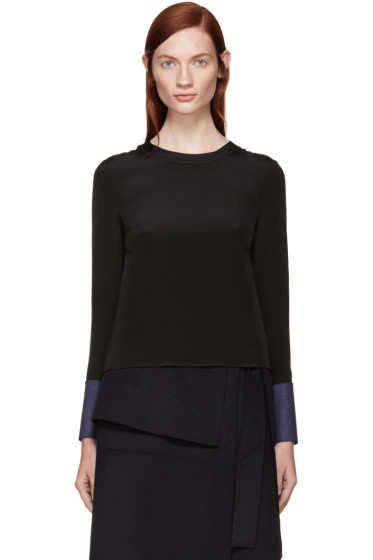 Roksanda - Black Silk Selwood Blouse