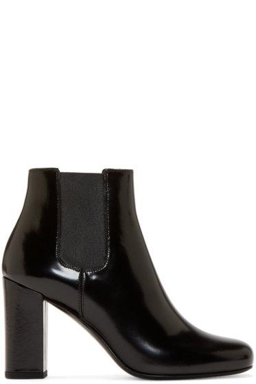 Saint Laurent - Black Heeled Babies Boots