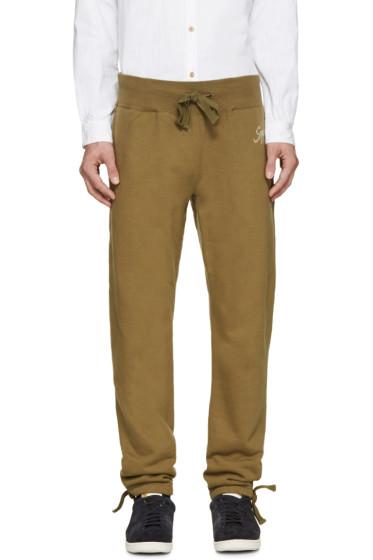 Visvim - Green Vintage Logo Lounge Pants