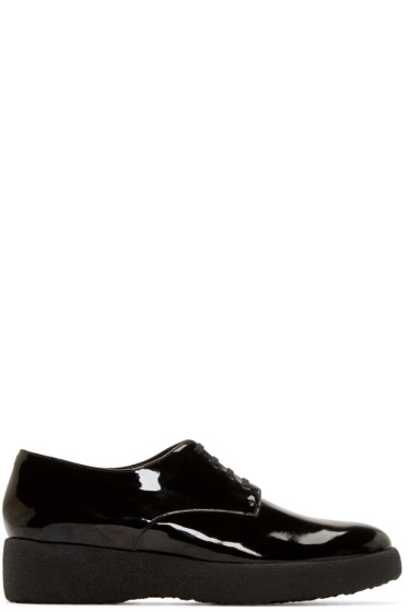 Robert Clergerie - Black Patent Feydo Derbys