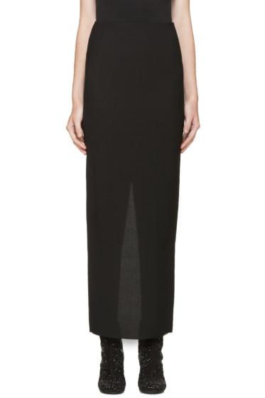 Haider Ackermann - Black Long Pencil Skirt