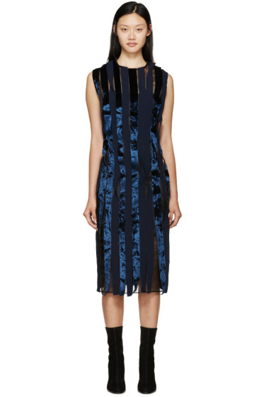 Rejina Pyo - Navy & Black Shauna Seaweed Dress