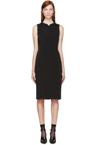 Esteban Cortazar - Black Sheath Dress