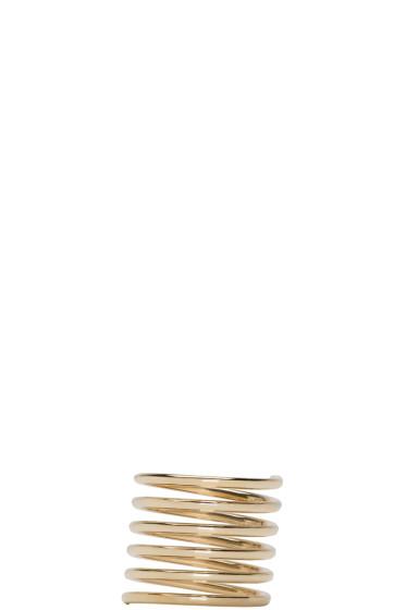 Sophie Bille Brahe - Gold Pirouette Grand Ressort Ring