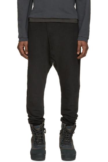 YEEZY - Black Sarouel Lounge Pants