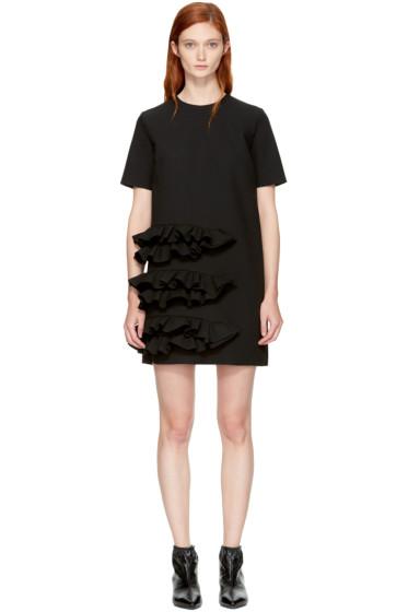 MSGM - Black Ruffle Dress