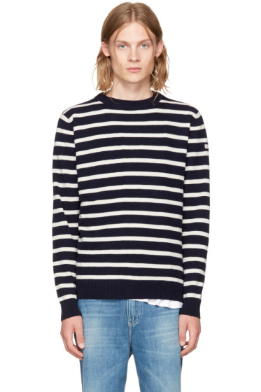 Éditions M.R  - Navy 'Holiday' Sailor Sweater