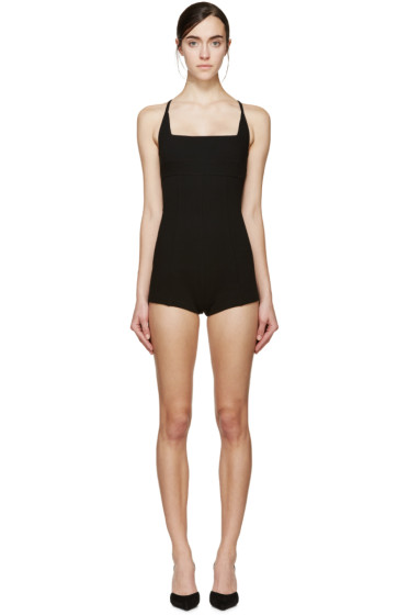 Dsquared2 - Black Short Romper