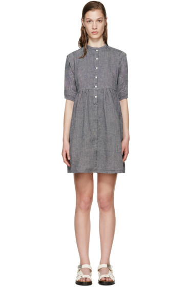 Visvim - Navy Linen Lancaster Dress