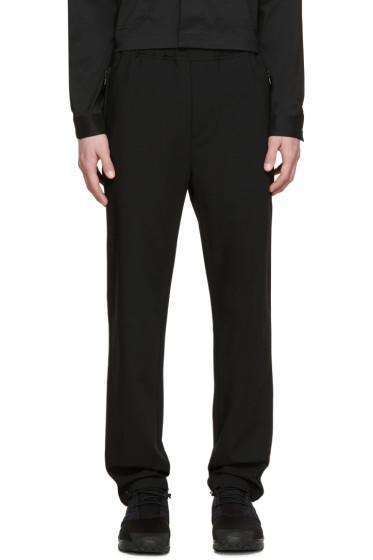 OAMC - Black Drawstring Trousers