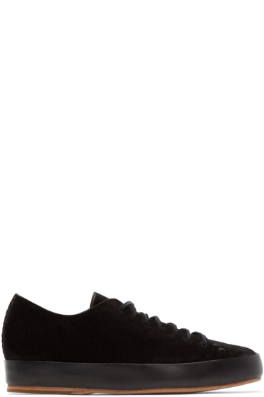 Feit - Black Hand Sewn Sneakers