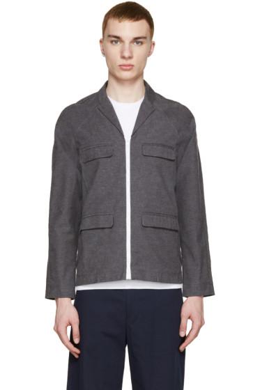 Sunnei - Grey Woven Jacket