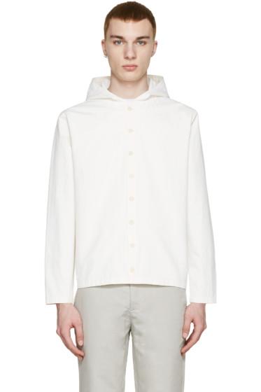 Sunnei - Off-White Button Up Jacket