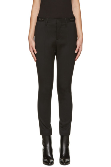 Dsquared2 - Black Wool Londean Trousers