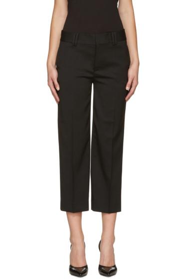 Dsquared2 - Black Wool Mariacarla Trousers